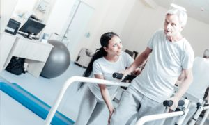 Short term restorative care support with ACRS